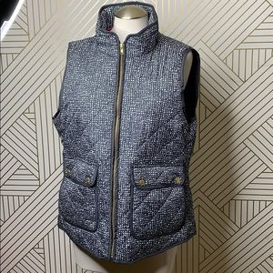 Telluride Clothing Co Vest with gold hardware